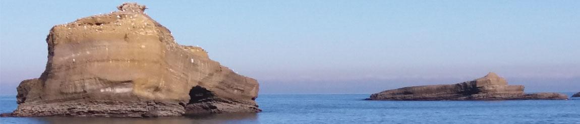 Illustration représentant le bord de la mer pour l'article du blog Démocratie Quotidienne sur l'écologie et l'environnement à Biarritz selon le candidat Jean-Benoit Saint-Cricq