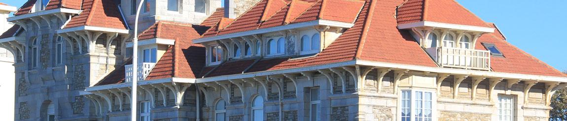 Illustration représentant un bâtiment de l'article du blog Démocratie Quotidienne sur le logement selon le candidat et maire actuel Michel Veunac